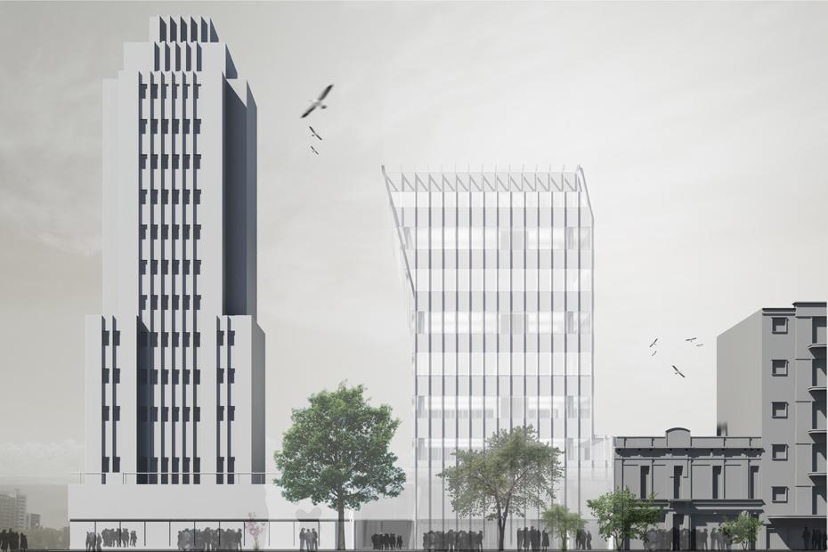 Concurso edificio anexo del Ministerio de Economía.